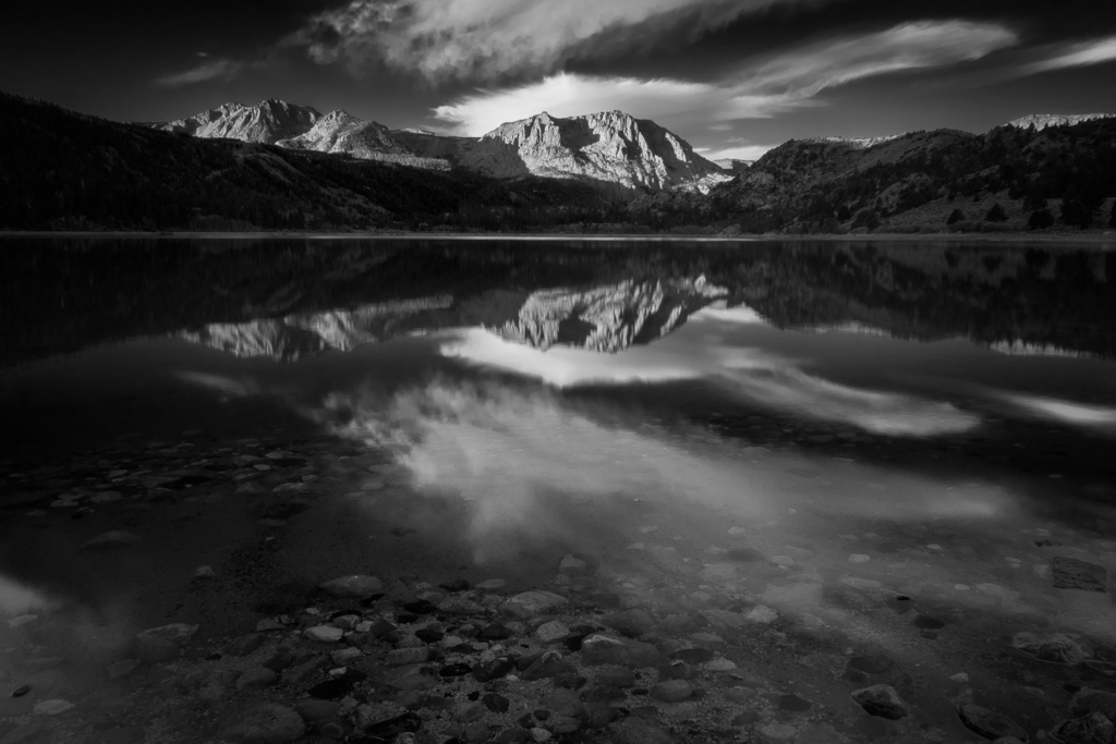 June Lake, Black and White